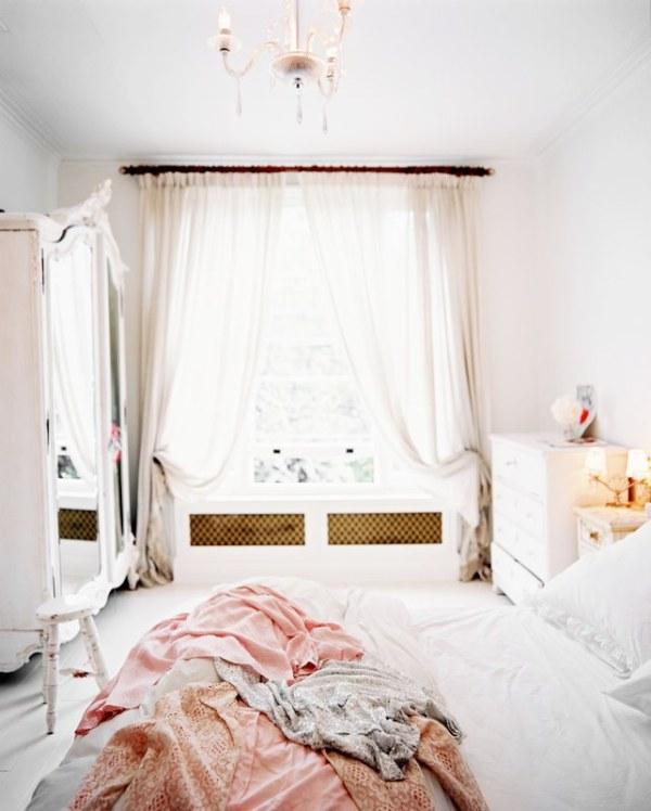 a light-filled bedroom