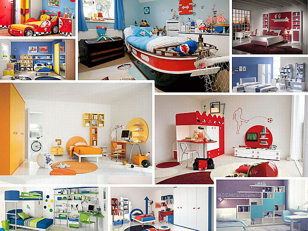 23 modern children bedroom ideas for the contemporary home for Designer childrens bedroom ideas