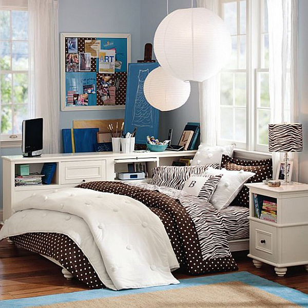 4 ideas for a more stylish college dorm - Dorm room bedding ideas ...