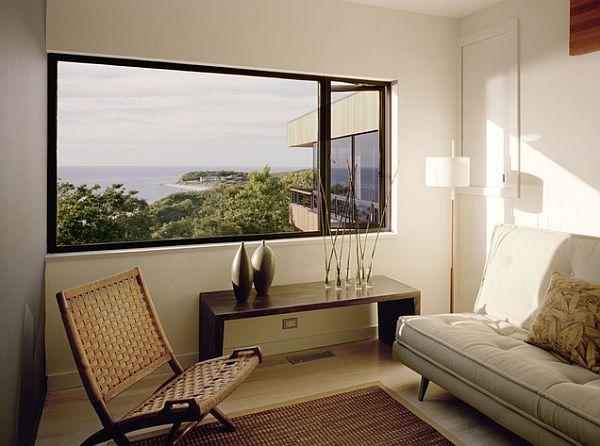 Comfy minimalist living area