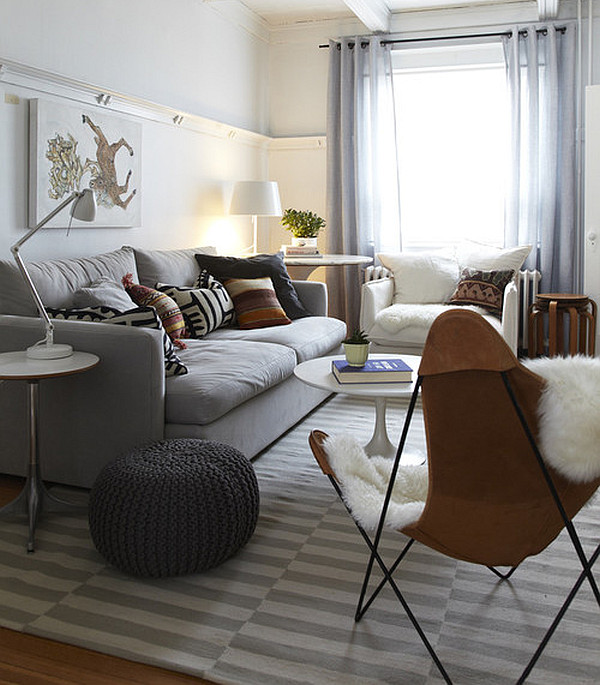 Comfy swedish inspired decor