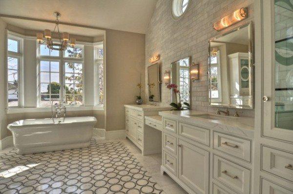 cream-bathroom-with-geometric-tile-600x398