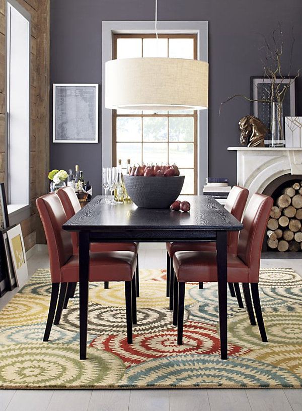 17 expandable wooden dining tables for Dining table design ideas for small spaces