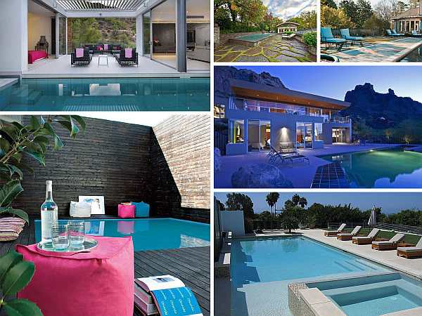 Cool and fabulous pool terrace design ideas for Terrace seating ideas