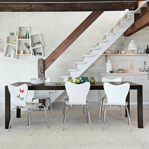 expandable parsons dining table