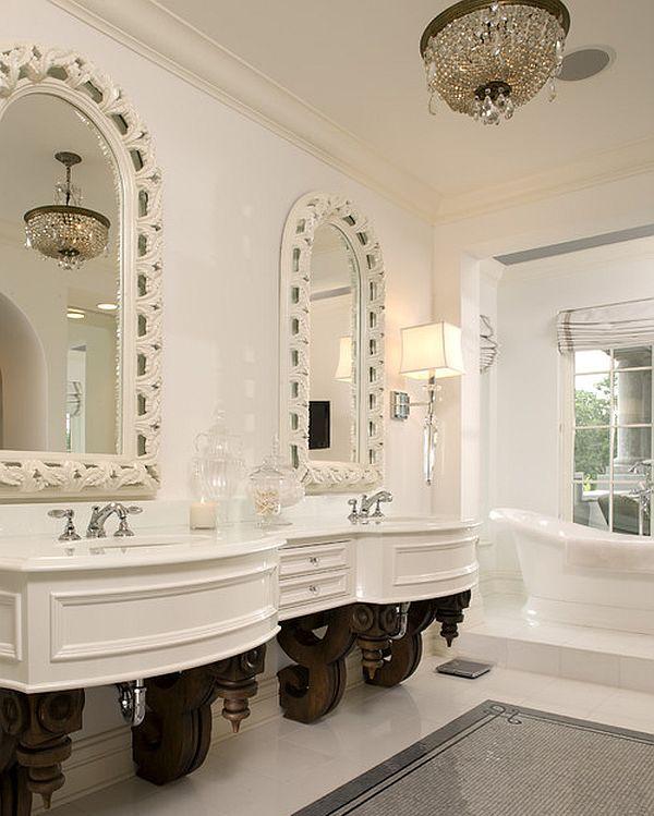 fabulous twin vanities for spacious bathrooms