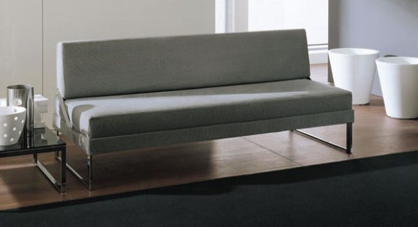 gray modern Italian sofa