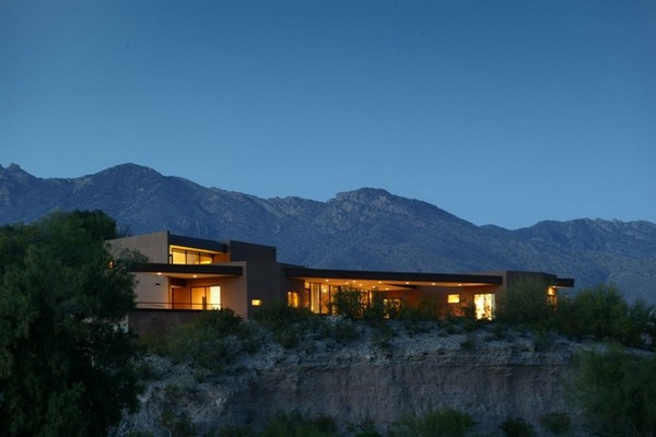 green design Riverfront Residence in Arizona 2 Contemporary Riverfront Residence in Arizona Has Green Design Elements