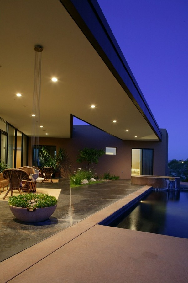 Arizona Home Design Idea Center: Contemporary Riverfront Residence In Arizona Has Green