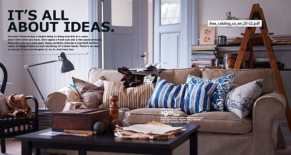 ikea 2013 catalog – comfy couch