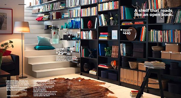ikea 2013 catalog – large black bookcase