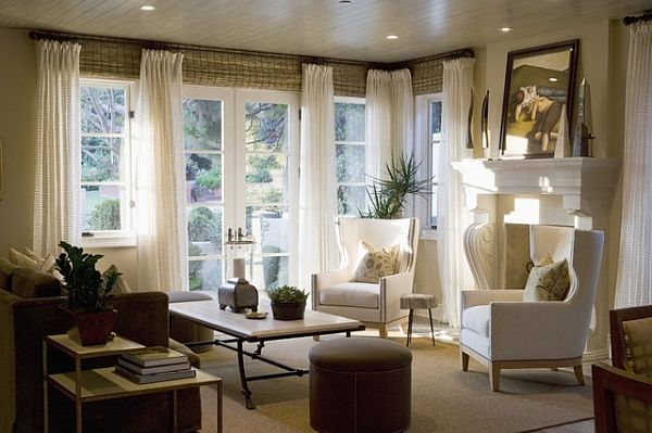living room window treatments 3 Ways to Boost Home Energy Efficiency Using Décor