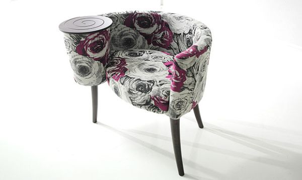 maya fabric chair