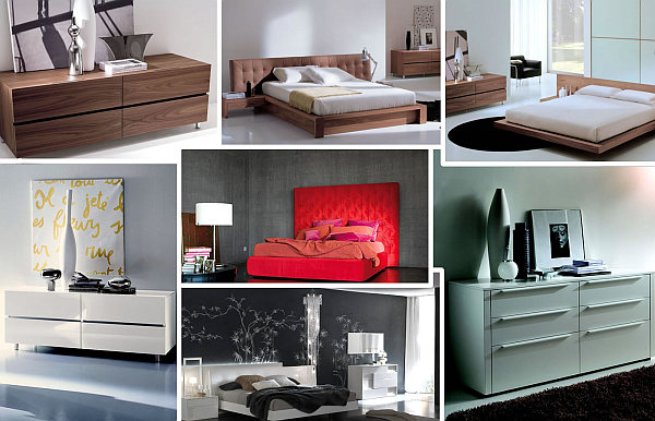Chic italian bedroom furniture selections - Ultra contemporary bedroom furniture ...