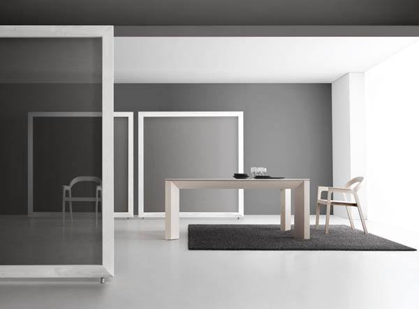 17 Expandable Wooden Dining Tables : modern Italian expandable dining table from www.decoist.com size 600 x 443 jpeg 30kB