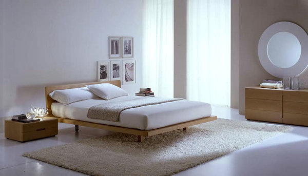 modern Italian wooden bed Chic Italian Bedroom Furniture Selections