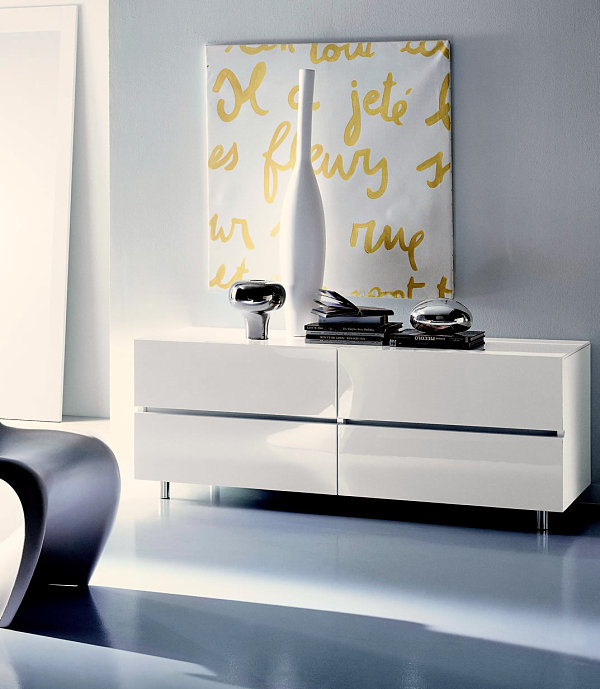 Chic Contemporary Furniture: Chic Italian Bedroom Furniture Selections