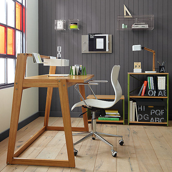 Modern Wooden Home Office Desk