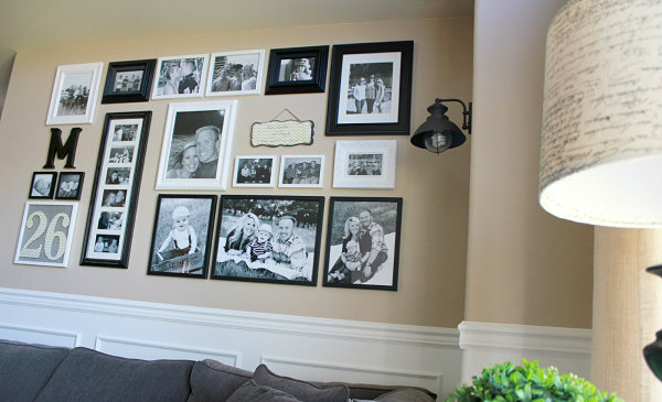 Family Pictures Gallery Wall