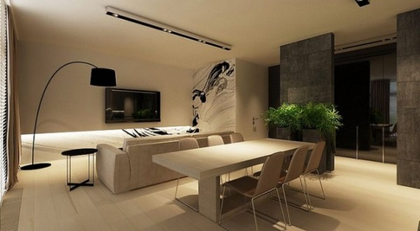 Neutral Interiors for Cool Contemporary Homes from ...