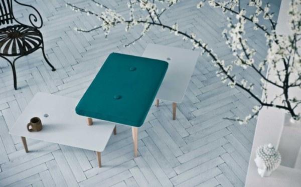 retro modern Italian tables