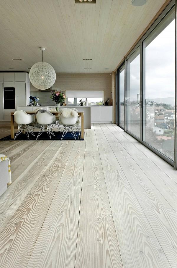 scandinavian inspired dining room
