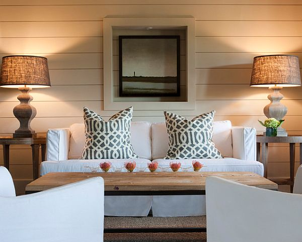 slip covers and pillows for a different look for your couch 5 Fast and Inexpensive Home Makeover Ideas