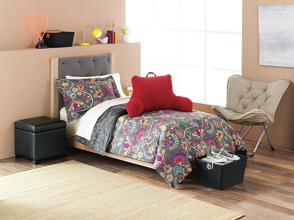Exceptional View In Gallery Stylish Modern College Dorm Room