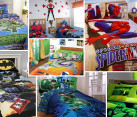 Superhero inspired bedrooms bedding sheets