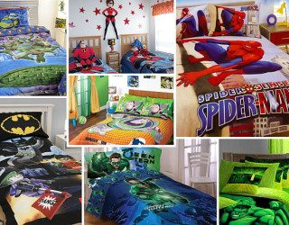 Boys Bedding: 28 Superheroes Inspired Sheets For Those Who Are Children at Heart
