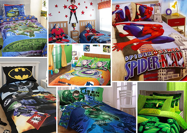 superhero inspired bedrooms bedding sheets Boys Bedding: 28 Superheroes Inspired Sheets For Those Who Are Children at Heart