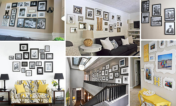 the art of hanging pictures Helpful Hints for Displaying Family Photos on Your Walls