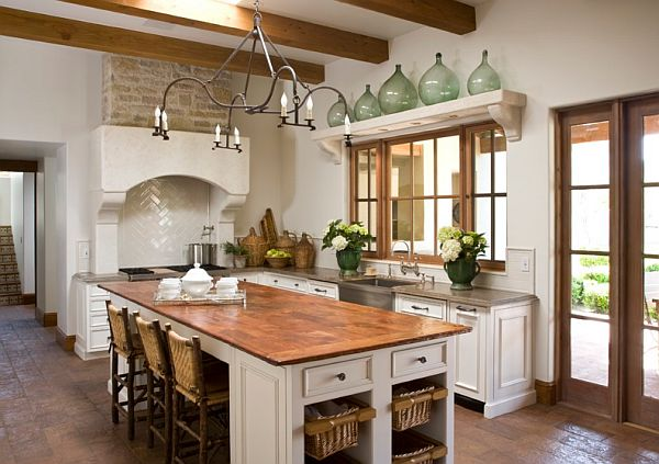 wood copper kitchen accent design | Decorating With Copper: How to Use Copper for Your Home Design