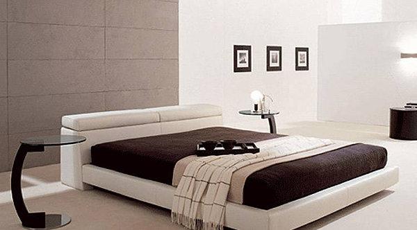 Italian Modern Upholstered Bed 600 x 332