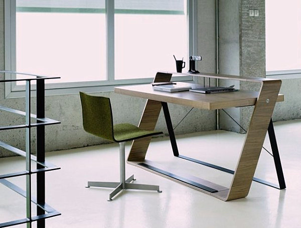 desks to complete the perfect modern home office view in gallery - Modern Home Office Desk