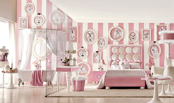 Pink inspiration decorating your home with pink - Pink and white teenage room ...