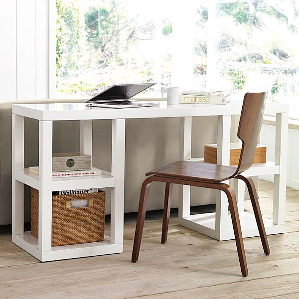 20 Inspiring Home Office Design Ideas For Small Spaces: 20 Stylish Home Office Computer Desks