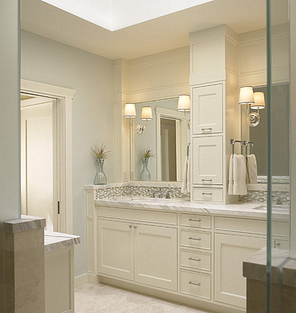 Bathroom Vanity Tower Ideas : Relaxing bathroom designs that soothe the soul