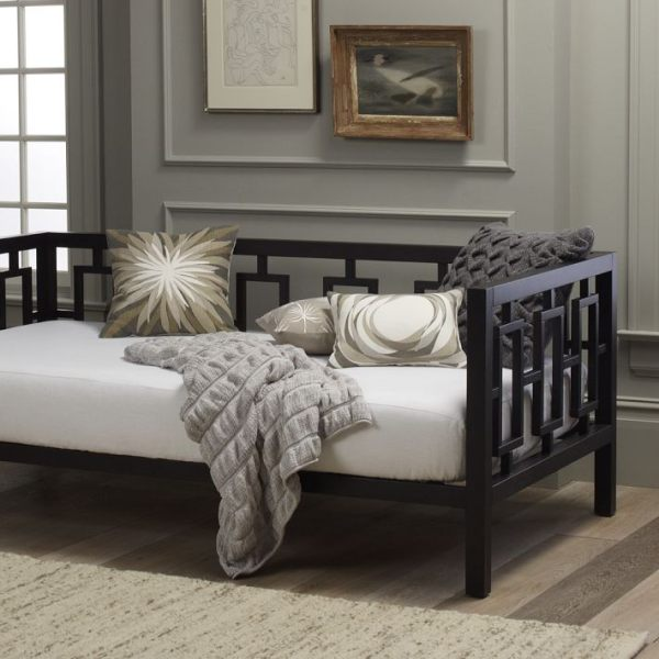 A Hollywood Regency-style daybed