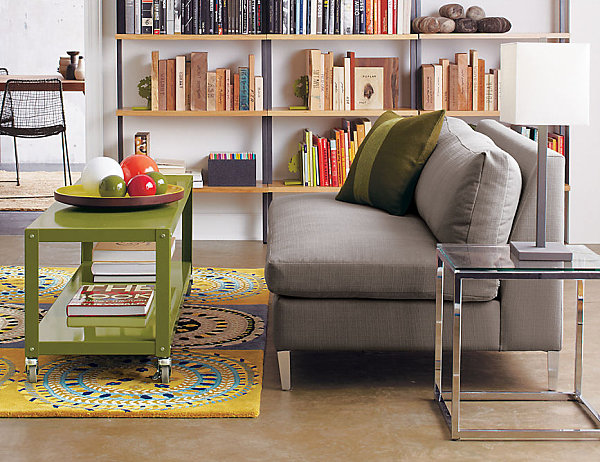 compact furniture for small living. view in gallery a clear side table small living space compact furniture for i