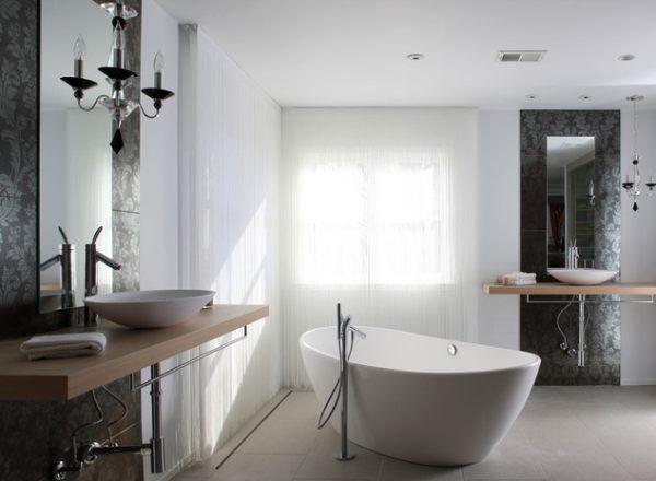 Unique bathroom tub ideas - Salle de bain baignoire ilot ...