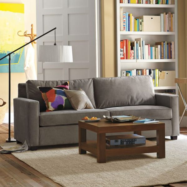 Living room paint ideas find your home 39 s true colors for Grey couch living room