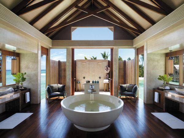 A modern circular tub