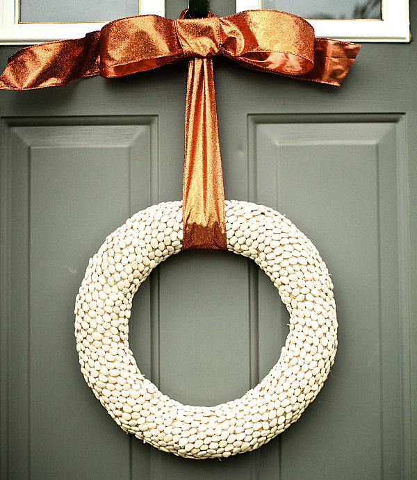 ... Christmas Contemporary Door Wreaths  Little Pieces Come Together