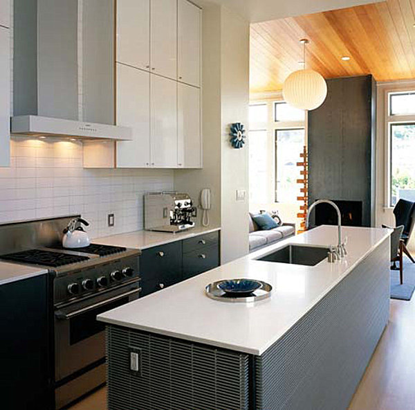 25 Captivating Ideas For Kitchens With Skylights: A Modern Small Kitchen