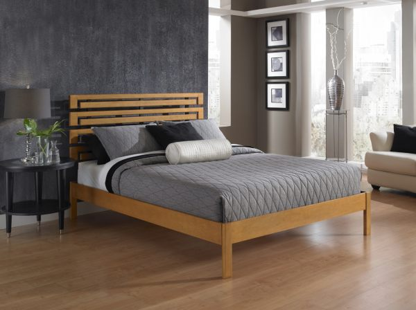 Modern Wooden Beds : Crate & Barrel's Linea Be d manages to be earthy and modern at the ...