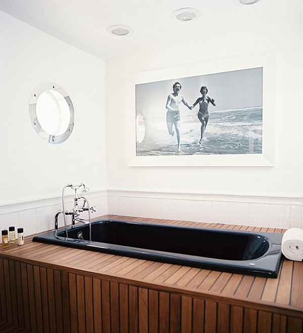 A nautical bathroom