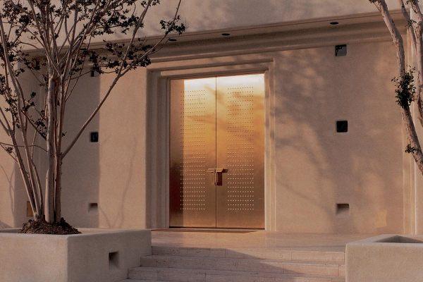 Modern door designs for your home for Metal front doors for homes