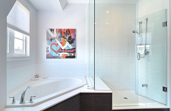 Bathtub Shower Combo Design Ideas: Unique Bathroom Tub Ideas