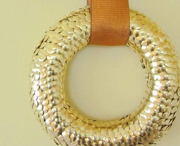 A-wreath-made-of-brass-tacks